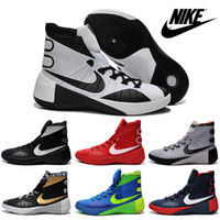 authentic shoes - Nike Hyperdunk Classic Basketball Shoes For Men Hight Cut New Authentic Retro Trainers Mens Sports Boots Sneakers