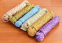 Wholesale 2015 Bold multifunctional antiskid clothesline drying is nylon rope meters drying clothesline