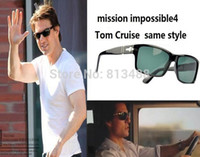 Wholesale TAC polarized goggles tree gafas mission impossible4 Tom Cruise Sunglasses POLARIOD gafas driving Men Sport ford glasses