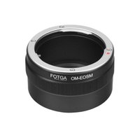 Wholesale FOTGA Olympus OM Mount Lens To Canon EOS M M2 M3 EF M Mirrorless Camera Adapter