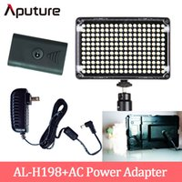 Wholesale Aputure Amaran AL H198 CRI On Camera Led Video Light with AC Power Adapter Led Lighting Lamp