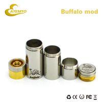 Atemto SS Buffalo Mod 900mAh Searching product e-cigarette full clone button clock ring SS Buffalo Mod clone vs steampunk mod