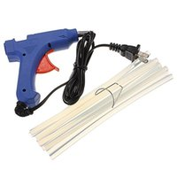 Wholesale Best promotion W V Professional Mini Electric Heating Hot Melt Glue Gun With Glue Sticks