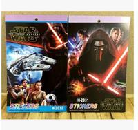 Wholesale Star Wars Stickers D Cartoon Mini Kids Stickers Notebook Stickers Darth Vader Stormtrooper Stickers Children Classic Toys Kids Gifts m