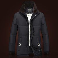 Wholesale Fall New Arrival Jacket Man Down Jacket Plus Size XXXL Hooded Quilted Jacket Men Outdoor Parkas Brand Coat Winter Outdoors Parka