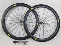 racing bicycle - Mavic cosmic carbon road bike racing wheels mm clincher tubular bicycle wheelset c straight pull Powerway Hub R36 basalt brake surface