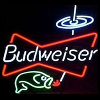 Wholesale Revolutionary Neon Gifts Budweiser Frog Neon Signs Beer Signs Neon LIght Beerbar Sign19 quot x15 quot Available multiple Sizes