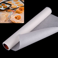 Wholesale 10 m Non Stick Parchment Baking Paper Sheet Roll F for Baking Cooking Barbecue Cooking Tools Kitchen Accessories order lt no track