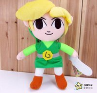 Cheap The Legend of Zelda PlushToys Legend of Zelda Plush Doll Stuffed Toy Waker Link Plush doll stuffed Toys Christmas gift