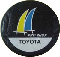 Wholesale Universal Spare Car Tyre Cover Wheel Storage and Carry Bag Cover holder Tote tire cover inch inch inch inch