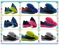 athletic training products - New Product fly Running Shoes Fashion Women and Men s Running Sneakers Sports Shoes Athletic Max Shoes yellow black grey Blue Training
