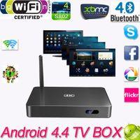 Wholesale Android Smart TV Box Cortex A17 Mali T764 HDMI XBMC TV Media Player RK3288 Quad Core H Tv Receivers Remote Control