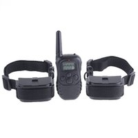 Wholesale 100 Levels M LCD Remote Pet Dog Training Collar Trainers