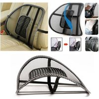 mesh chair office chair - New Massage Cushion Vent Mesh Back Lumber Support Office Chair Car Seat Pad