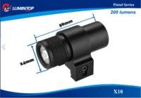 Wholesale Lumintop X10 Tactical Pistol Light gun hunting flashlight Flashlights amp Torches Cheap Flashlights amp Torches