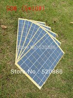 Wholesale Hot W pcs10w V Solar Panel Set charge v battery