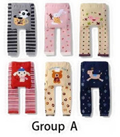 Wholesale Baby Rompers Kids Cartoon PP Pants Animal Tights For Babies Lovely Infants Cotton Knitted Kids Clothing Pairs SIZE with OEM