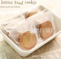 Wholesale A variety of sizes of translucent matte baking packaging Macarons moon cake tea bag closure pocket bag of cookies