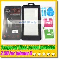 Wholesale For Iphone Plus D Tempered Glass screen protector Film mm For SAMSUNG S6 S5 S4 Iphone s s Note