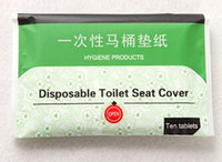 Wholesale Disposable Paper Toilet Seat Covers Camping Festival Travel use