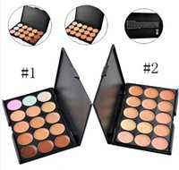 Wholesale 2015 Professional Colors Concealer Foundation Contour Face Cream Makeup Palette Pro Tool for Salon Party Wedding Daily