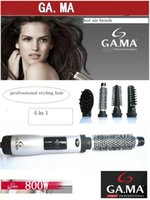 Wholesale 220v portable travel use Hair Styler Brush GA MA brand Comb in1 Rotating Brush Hair Comb Hot air Brush Hairdryer Pro Styling Tools