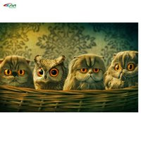 baby cross stitch patterns - ovely Baby owl of diamond Mosaic Picture Pattern Cross Stitch Rhinestone Diy Diamond Paintings Embroidery painting bb1582