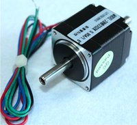 Wholesale CNC Hollow Shaft Two phase Stepper Motor HB3302K Dual Shaft degree mm Wire