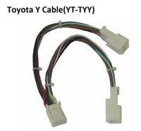 Wholesale Yatour Y adapter cable connector Small YT TYY for audio Navi AUX CDC tuning Toyota Lexus Scion models