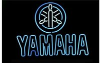 auto glass dealers - JAPAN YAMMAHA MOTORCYCLE AUTO DEALER HANDICRAFT NEON LIGHT BEER BAR PUB REAL GLASS TUBE SIGN x14