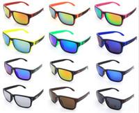 Wholesale 2015 NEW Sunglasses very high quality The Jam Sunglasses Mirror Lens Brand Designer Mens Sport Sunglasses