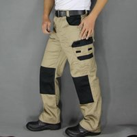 auto electricians - Mens work pants safety Pants Military More Pockets Zipper Trousers Outdoors Overalls Army Pants Electrician Auto Repair Workers
