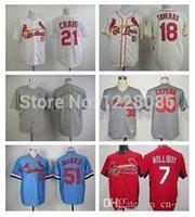 allen craig jersey - 2015 New Matt Holliday Allen Craig Oscar Taveras Orlando Cepeda Felipe Lopez McGee St Louis Cardinals Baseball Jerseys