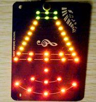 audio control led indicator - LED lights Music control lights DIY electronic kits Voice activated LED lights melody Audio volume indicator