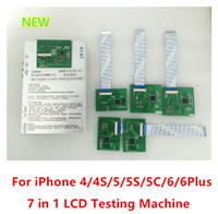 Wholesale DHL Free For iPhone in LCD Tester Test Board LCD Testing Frame Repair Parts for iphone s s c Plus Inch inch