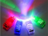 Wholesale 20000pcs Multi color Bright LED Finger Light flashing toy For Party KTV Bar