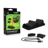 Wholesale Daul Rechargeable ABS Plastic Chargers for Xbox One with x mAh Batteries