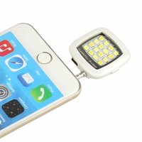 Wholesale H082 Portable Smartphone Photography Selfie Lights LED Enhancing Flash Fill Phone Photo Lights For iPhone s Samsung s5 s6