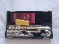 Wholesale C nickel plating bend flute children flute