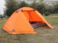 Wholesale double layer person season aluminum rod outdoor camping tent Topwind PLUS with snow skirt