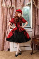 Reference Images western clothing - Classic Short Sleeves Ruffled Gothic Lolita Dresses Western style clothes Cosplay Lolita Fancy Dress Prom Dress Halloween Costume