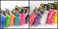 rubber band rainbow loom - Hot Rainbow Loom Kit DIY Wrist Bands rubber band Rainbow Loom Bracelet for kids Colors