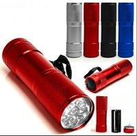 Cheap 9 LED mini torch Best portable LED flashing light
