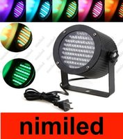 Wholesale Professional Stage Light W RGB LED Light Channel DMX512 Control Laser Projector DJ Party Disco Stage light US plug HSA1797
