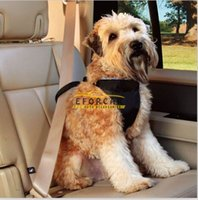 Wholesale Safety Pet Seat Belt For Car Harness Dog Leash Safety Seat Belt Collar Supplies Products Dog Stuff Pads Sizes