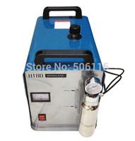 Wholesale Free ship Portable Oxygen Hydrogen Water Welder Flame Polisher Polishing Machine H180 L Double gun