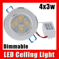 Wholesale High quality Dimmable led downlight W w dimming AC V V V V LED Spot light led ceiling lamp