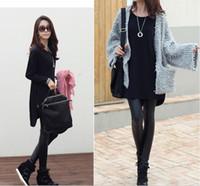 Wholesale Casual Women Loose T Shirt Long Sleeve Zipper Detail Slouchy Pullover Long Tops Shirt