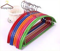 Cheap metal hanger Best pvc coated hanger