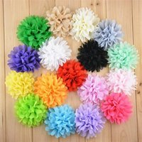 alternative accessories - 20pcs Alternative Chiffon Hair Flowers Headband Flowers WITHOUT Clips Baby Girls Hair Accessories C199